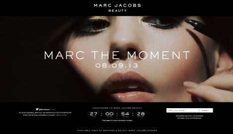 marc jacobs beauty line