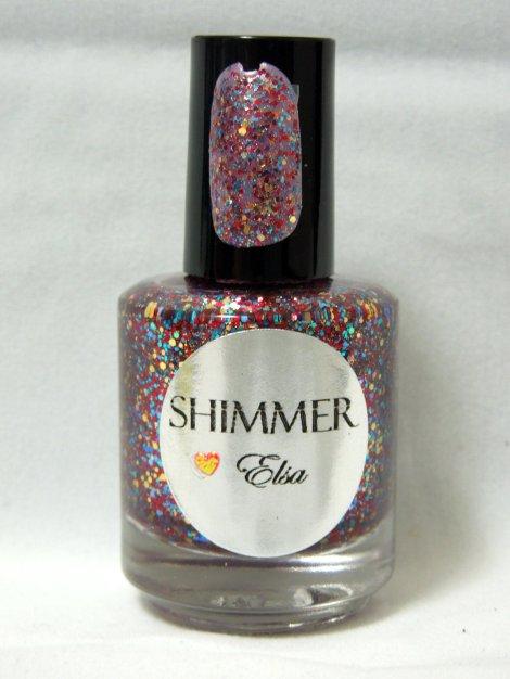 shimmer polish elsa