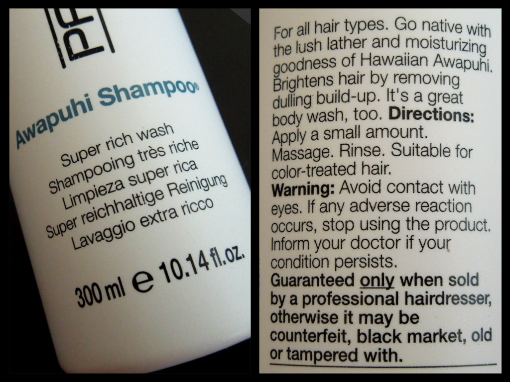 Paul Mitchell Awapuhi Shampoo Two