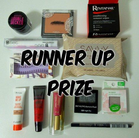 runner up prize