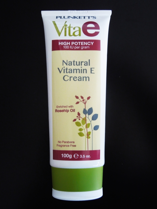 Plunkett's Vita Natural E Cream - Review