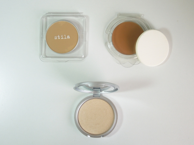 Unfortunately the two Stila products are too dark but I may be able to use them as a contour.