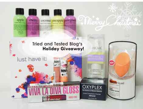 tried and tested blog holiday giveaway14