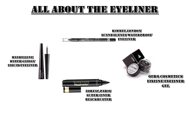 all about the eyeliner