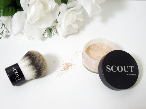 Scout Cosmetics Mineral Powder Foundation