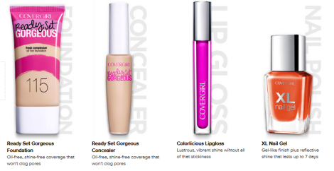 covergirl new products