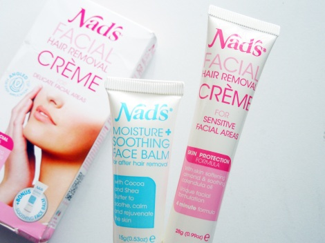 nads facial hair removal creme