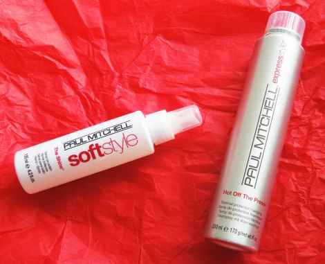 paul mitchell express style hot of the press softstyle the shine