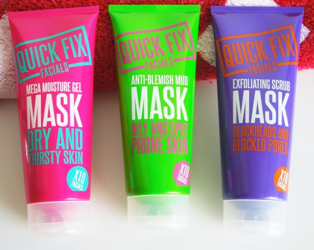 quick fix facials anti blemish exfoliating scrub mega moisture mask
