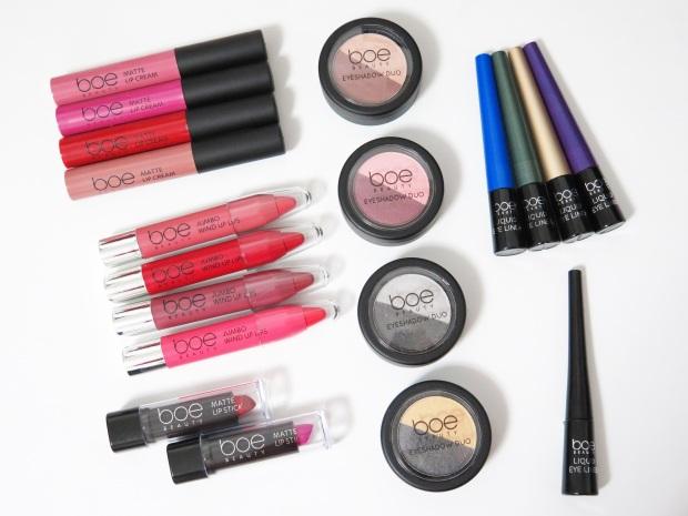 boe beauty big w matte lip cream jumbo wind up lips liquid eyeliner eyeshadow duo matte lipstick