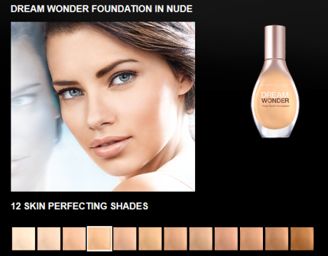 maybelline dream wonder foundation in nude