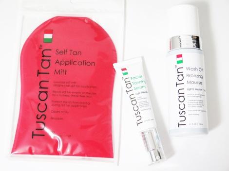 Tuscan Tan Wash Off  Bronzing Mousse facial tanning serum