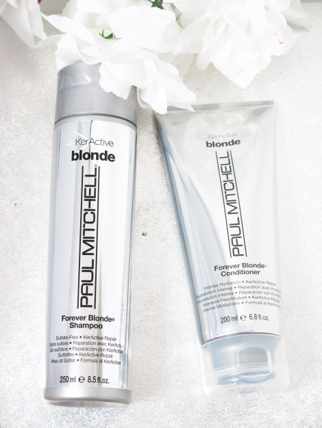 paul mitchell forever blonde shampoo and conditioner