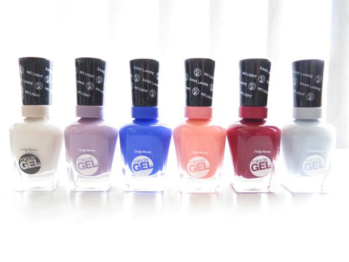 Sally hansen miracle gel 2 step gel manicure review tried