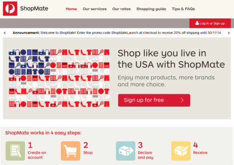 shopmate australia post