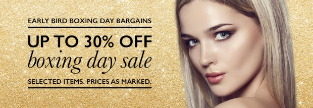 adore beauty boxing day sales 2014