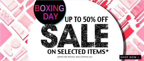 fresh discover beauty online boxing day sales 2014