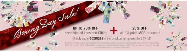 mor boxing day sales 2014