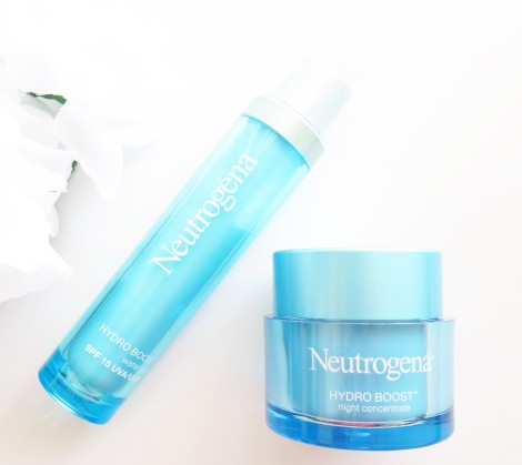 neutrogena hydro boost water gel spf 15night concentrate