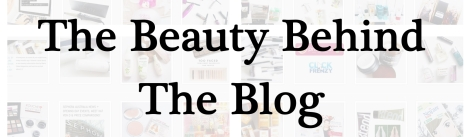the beauty behind the blog