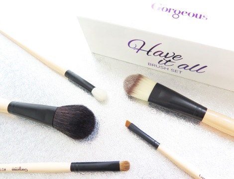 gorgeous cosmetics Have It All' Brush Set