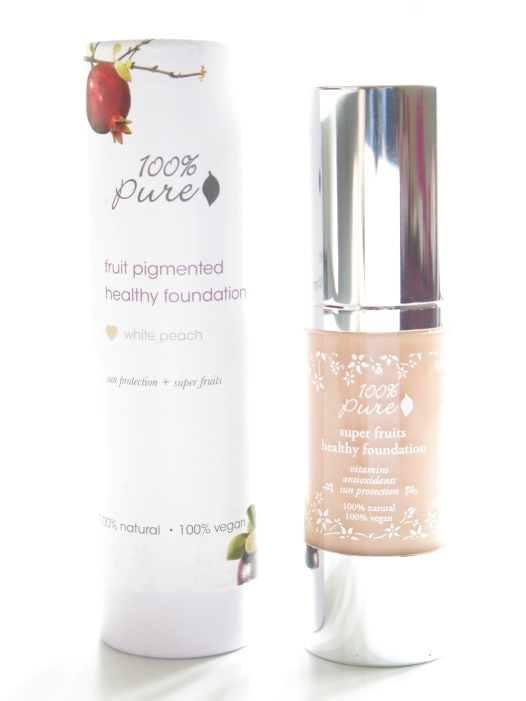 100% pure superfruits fruit pigmented healthy skin foundation