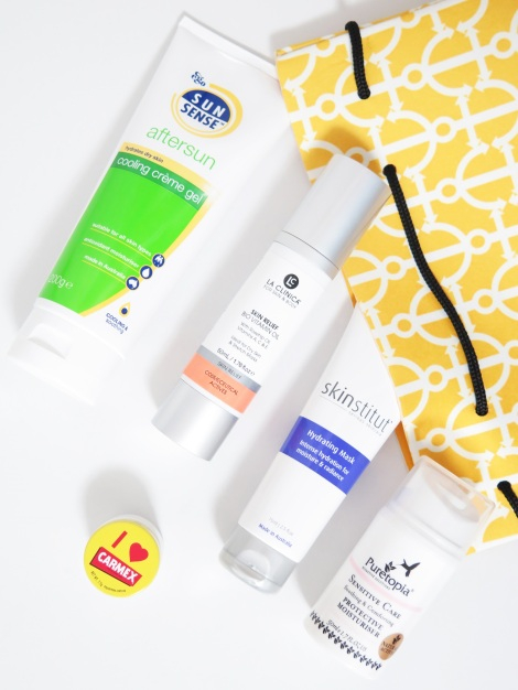 aftersun skincare products