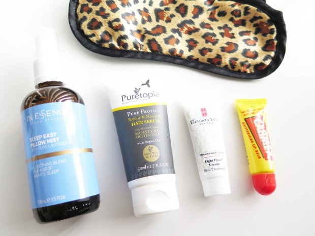 bedside beauty and relaxation essentials