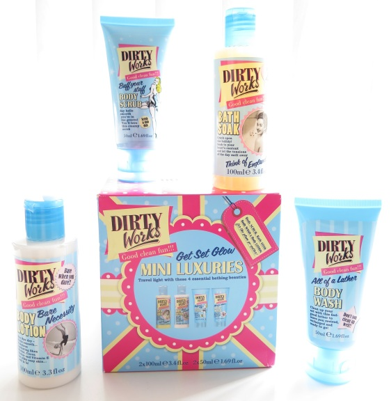 dirty works get set glow mini luxuries set