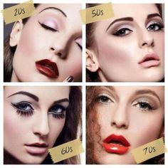 makeup decades
