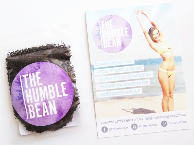 the humble bean, vegan coffee scrub