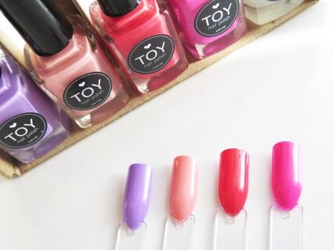toy nail polish swatches