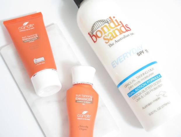 carols beauty sun tanning enhancer bondi sands everyday spf 15 gradual tanning milk