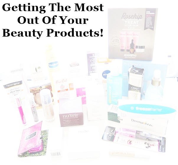 getting the most out of your products