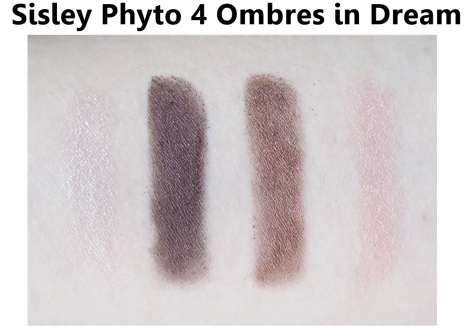 sisley phyto 4 ombres dream swatches