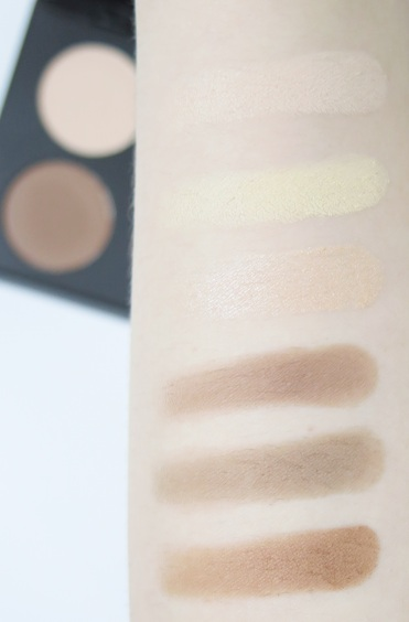 australis ac on tour contouring and highlighting kit swatches