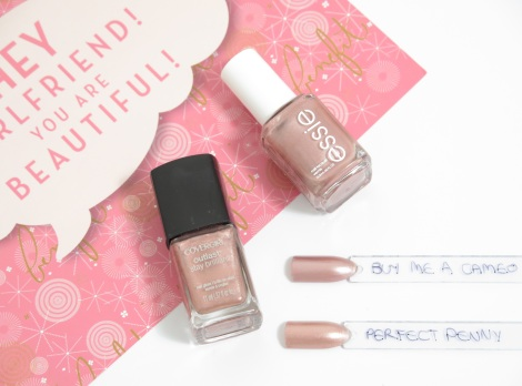 covergirl outlast stay brilliant perfect penny essie buy me a cameo