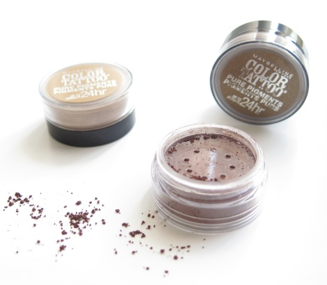 Maybelline New York Color Tattoo Pure Pigments Eye Shadows