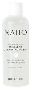 Natio Cucumber & Aloe Micellar Cleansing Water