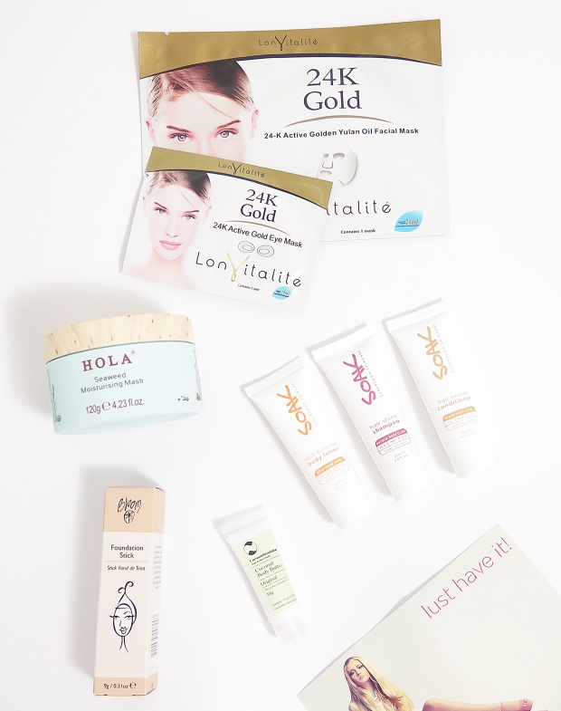 lust have it beauty box may 2015 1