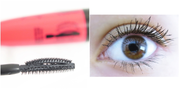 Rimmel London ScandalEyes XX-Treme Volume & Length Mascara - Review swatch lash picture