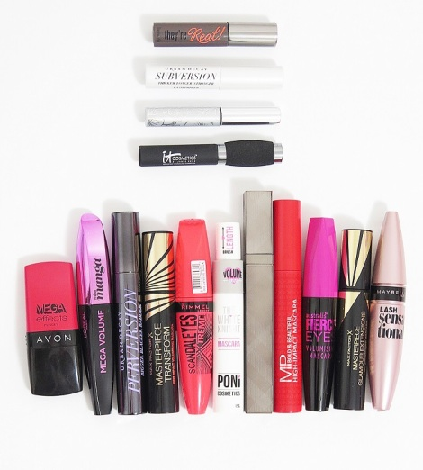 mascara review benefit theyre real urban decay perversion subversion clinique bottom lash it cosmetics hello lashes loreal miss manga maxfactor masterpiece glamour extensions poni cosmetics white knight burberry bold lash