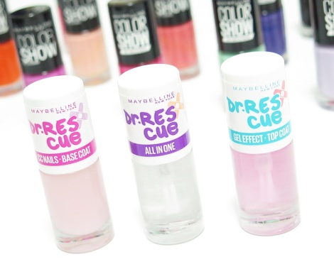 maybelline new york dr rescue nail care line cc nails base coat all in one gel effect