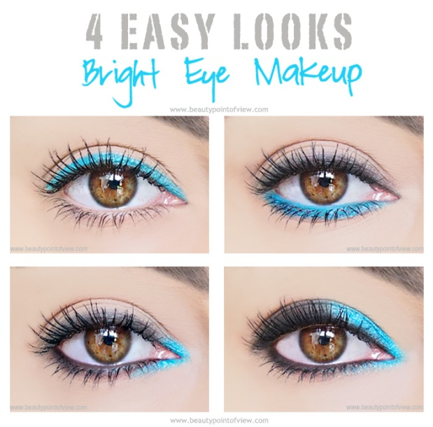 bright eyeliner wearble looks beautypointofview