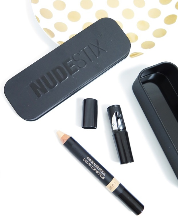 nudestix concealer pencil light 3 review swatch