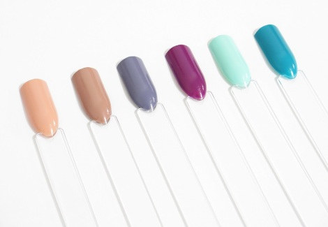 essie nail polish spring colection 2015 flowerista, perennial chic, picked perfect, garden variety, blossom dandy, petal pushers review swatches