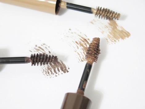 rimmel london brow this way brow sculptiing kit medium brown dark brown brow styling gel dark brown medium brown blonde clear review swatches 2