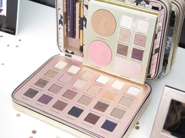SEPHORA Holiday (Christmas) Showcase Event tarte cosmetics light of the party collector's makeup case