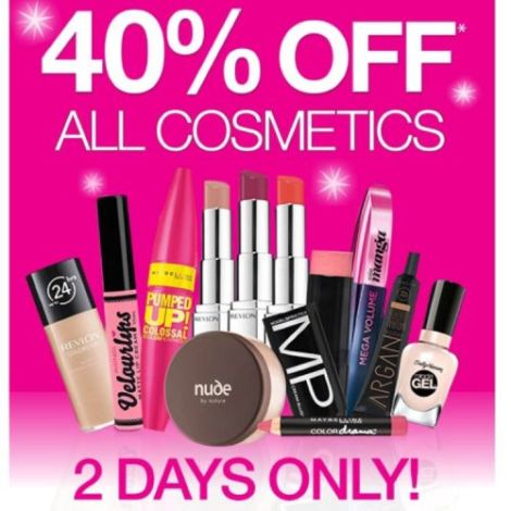 What To Buy At The Priceline 40% Off Cosmetics Sale This Week!