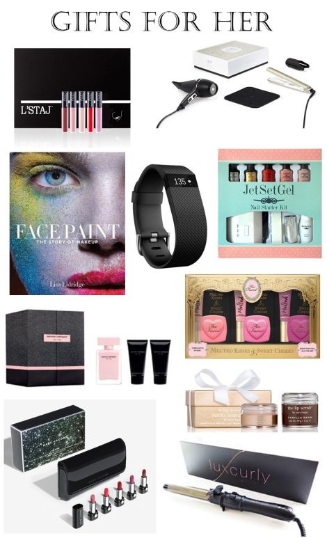 stocking stuffers, secret santa gift guide christmas gift guide gifts FOR HER
